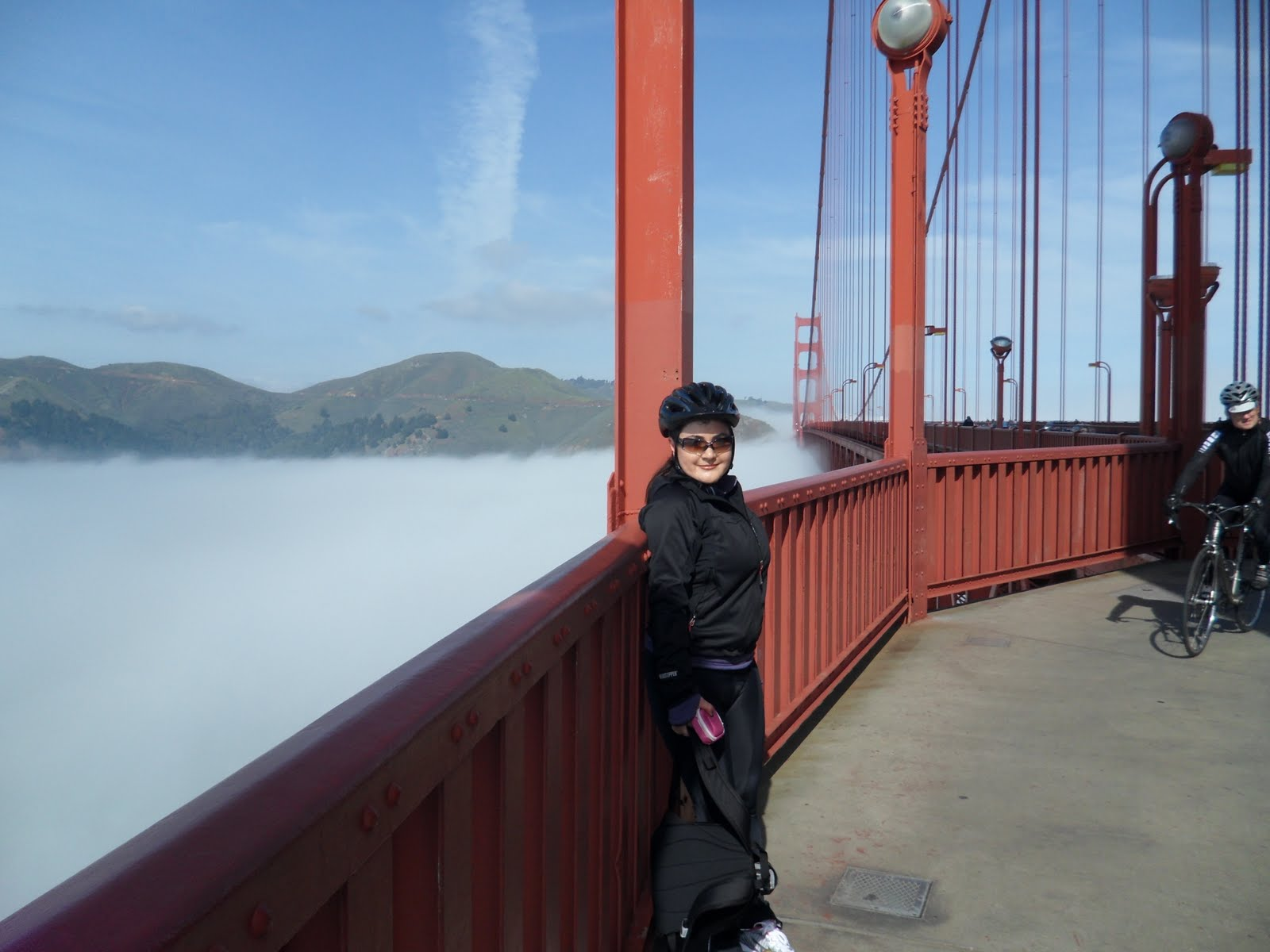 Golden Gate Bridge Bike Path We Like To Bike