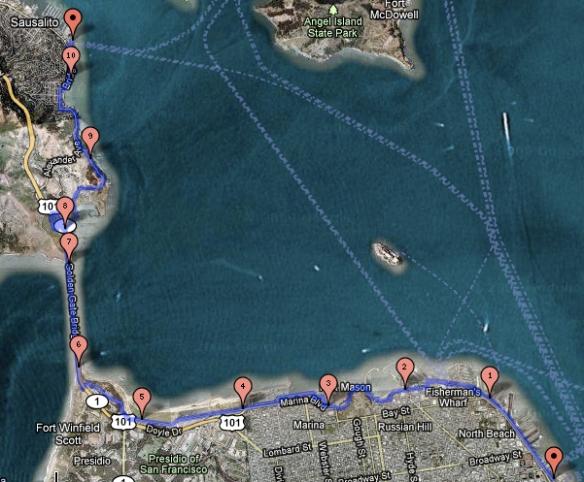 san francisco bike map pdf