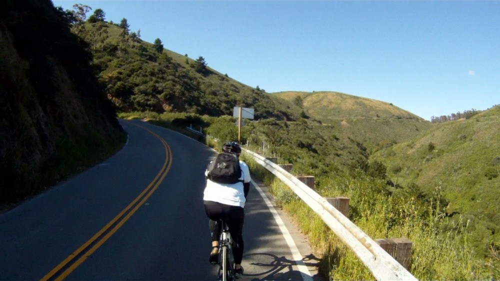Trail: THREE AMIGOS! -- Return from Muir Beach to Sausalito Along Pacific Coast Highway